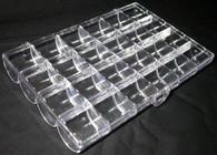 Hard Plastic Case w/24 slots