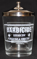 Barbicide Table Jar