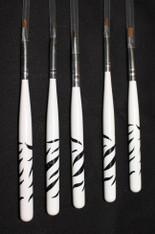 Nail Art Brushes (set of 5)
