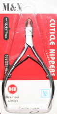 M & X Cuticle Nipper (9 mm) - Silver