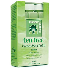 Clean & Easy Tea Tree Wax Refill Large (3 pack)