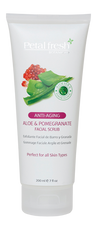 Aloe & Pomegranate Facial Scrub