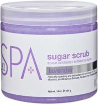 Spa Organics Sugar Scrub - Lavender (16 oz)