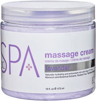 Spa Organics Massage Cream - Lavender (16 oz)
