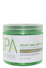 Spa Organics Dead Sea Salt Soak - Lemongrass & Green Tea (15 oz)