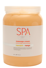 Spa Organics Massage Cream -Mandarin & Mango (64 oz)