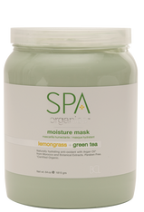 Spa Organics Moisture Mask - Lemongrass & Green Tea (64 oz)