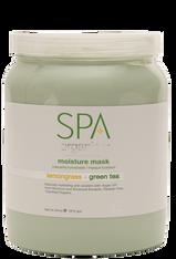 Spa Organics Moisture Mask - Lemongrass & Green Tea (64 oz)