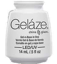 China Glaze Gelaze - White On White