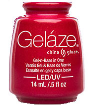 China Glaze Gelaze - Strawberry Fields