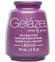 China Glaze Gelaze - Spontaneous