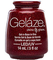 China Glaze Gelaze - Ruby Pumps
