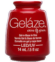 China Glaze Gelaze - Salsa