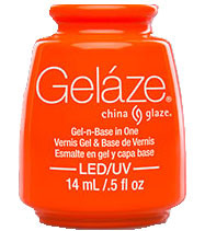 China Glaze Gelaze - Orange Knockout