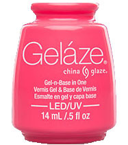 China Glaze Gelaze - Shocking Pink