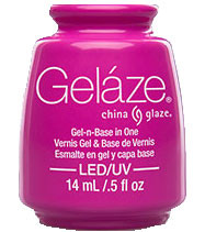 China Glaze Gelaze - Purple Panic