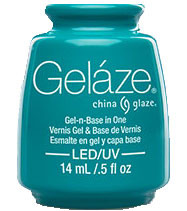 China Glaze Gelaze - Turned Up Turquoise
