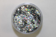Starlight Nail Art Glitter - 18 AB Pieces (2 oz.)