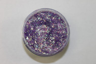 Starlight Nail Art Glitter - 30 Purple Strips (2 oz.)
