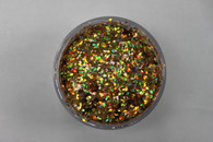 Starlight Nail Art Glitter - 40 Yellow Diamonds (2 oz.)
