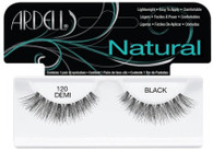 Ardell Eyelashes - Natural Demi Black 120 (65092)