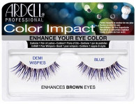 Ardell Eyelashes - Natural Color Impact Demi Wispies Blue Enhances Brown (61475)