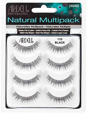 Ardell Eyelashes - Natural Multi-pack 110 Black (61407)