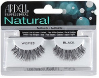 Ardell Eyelashes - Natural Wispies Black (65010)