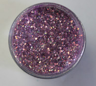 Starlight Nail Art Glitter - 84 Purple Hexagons Small (2 oz.)
