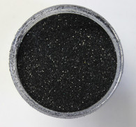 Starlight Nail Art Glitter - 62 Black Glitter (2 oz.)