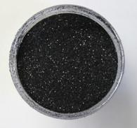 Starlight Nail Art Glitter - 62 Black Glitter (2 oz.)