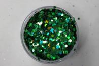 Starlight Nail Art Glitter - 45 Green Diamonds (2 oz.)