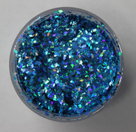 Starlight Nail Art Glitter - 96 Blue Diamonds (2 oz.)