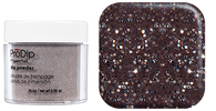 Super Nail Pro Dip Powder - Sparkling Pewter .9 oz. (Acrylic Dipping System)