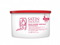 Satin Smooth Pot Wax - Wild Cherry Hard Wax w/ Vitamin E