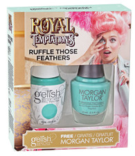Harmony Gelish Two of a Kind Royal Temptations - Ruffle Those Feathers