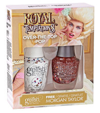 Harmony Gelish Two of a Kind Royal Temptations - Over the Top Pop