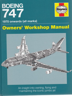 Boeing 747 1970 Manual (front cover)