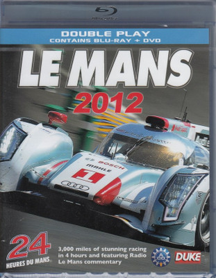 Le Mans 2012: The Official Review of The World's Greatest Endurance Race Blu-Ray + DVD