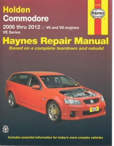 holden vt commodore workshop manual