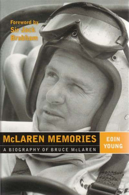 McLaren Memories: A Biography of Bruce McLaren (signed book)