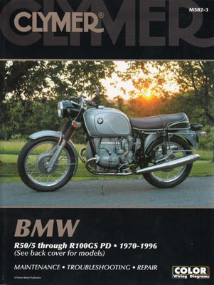 BMW R50/5 through R100GS PD 1970 - 1996 Workshop Manual