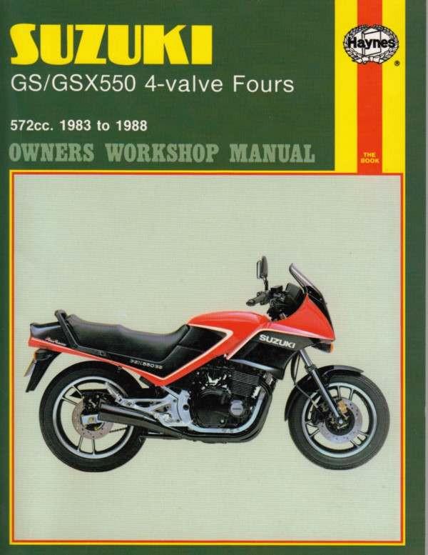 Suzuki Gsx 550 Инструкция - фото 2