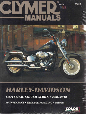 Harley-Davidson FLS, FXS, FXC Softail Series 2006 - 2010 Workshop Manual