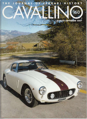 Cavallino The Enthusiast's Magazine of Ferrari Number 160