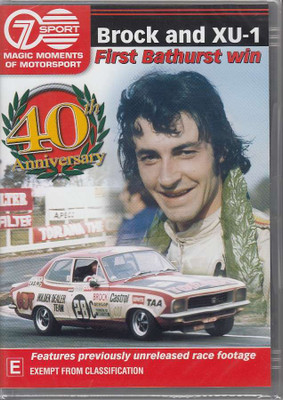 Magic Moments of Motorsport - Brock and XU-1 - First Bathurst Win DVD