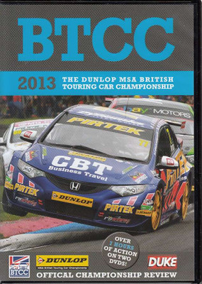 BTCC: The 2013 The Dunlop MSA British Touring Car Championship DVD