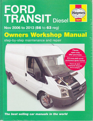 Ford Transit Diesel 2006 - 2013 Workshop Manual