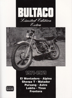 Bultaco Limited Edition Extra 1971 - 1979
