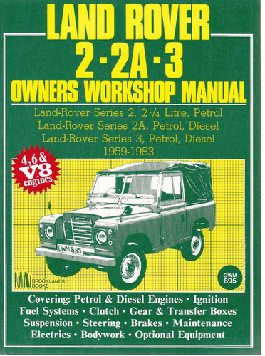 Cheap land rover user guide user manuals array land rover 2 2a 3 owners workshop manual fandeluxe Images
